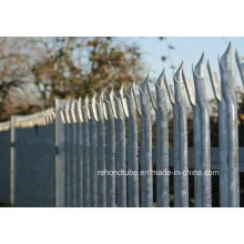 Hot Dipped Galvanized Steel Palisade Fence Panel