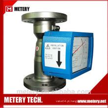 Medidor de fluxo rotámetro da METERY TECH.