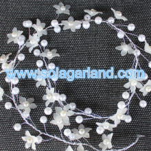 Beaded Branch Wire Pearl Beaded Garland