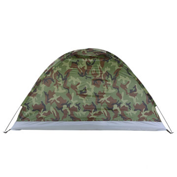 Wholesale  Portable 2 Persons Polyester Single Layer Outdoor Camping Tent