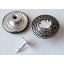 Argent Moving Jeans Boutons B294