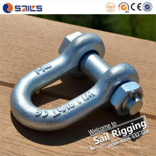"Us Type G-2150 1/4"" Hot Galvanized D Shackle"