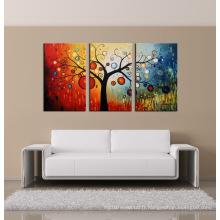 Décoration intérieure de haute qualité Peinture moderne pour fleurs