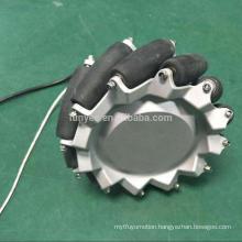 Presale Electric Mecanum Wheel Hub Motor Wheel Single Shaft Design For Assembly Robot kit