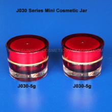 5ml forme de cône rouge Promotion cosmétiques Jar