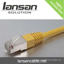 Lansan cat6 BC FTP Câble de raccordement 4 pcs Câble câblé 26AWG 7 * Pas de cuivre filé de 0,16 mm Test FLUKE