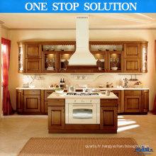 Cabinet de cuisine en forme de L
