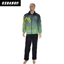 Factory OEM Color Printing Polyester Football Training Tracksuit Set