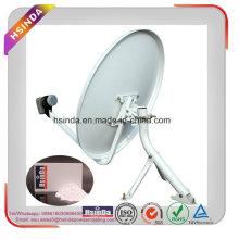 Долговечная погода / водонепроницаемость Сопротивление белого порошкового покрытия для спутникового ТВ-приемника