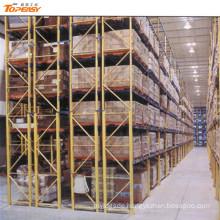 heavy duty warehouse storage double deep pallet rack