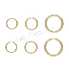 2015 Gets.com gold filled jewelry finding, 14K gold filled open jumprings