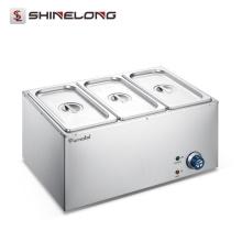 FSEBM-0604 Furnotel Heavy Duty Commercial Stainless Steel Table Top Food Warmer Bain Marie