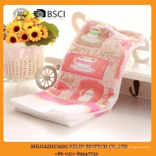 cotton custom Machine Washable Everyday Kitchen Basic Terry printed kitchen towel