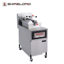 K536 Commercial Stainless Steel Electric Gas Chicken Pressure Fryer Chicken Machine