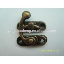 Personalice la cerradura antigua del metal de cobre amarillo de la calidad superior