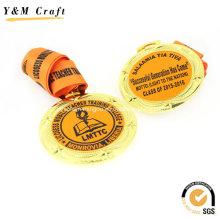 Цинка Золотая Медаль Премии Плакировкой Сплава Печатных Ym1166