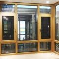 Factory Price Customized import window glass veranda aluminium casement window burglar proof