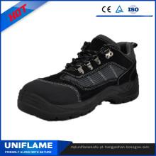 Sapatos de Safetry do olhar dos esportes com dedo do pé e entressola de aço Ufb054