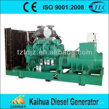 le générateur diesel 900KVA CUMMINS KTA38-G2A ouvrent le type approuvé CE