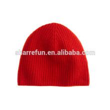 Funky Cashmere Winter Hut Hersteller, reine Kaschmir Mütze Hut