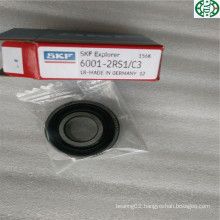 Made in Germany Rubber Seal Deep Groove Ball Bearing SKF 6001-2RS1/C3