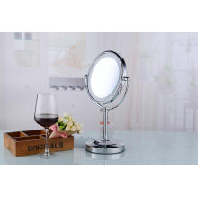 Battery Double Vision Professional Table LED Makeup CE Mirror