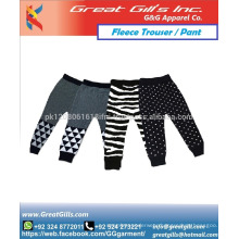 Make your own fashion trouser any design printing fleece training pant jogger for gym sports