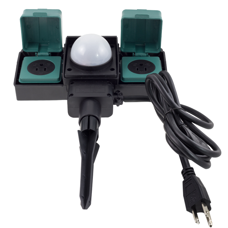 16A Outdoor Sockets with sensor