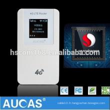 2016 bonne qualité wifi mobile 3g routeur carte SIM 4g