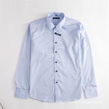 Men's Light Blue Business Formal Office Shirt