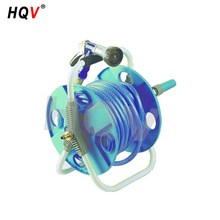 A18 Portable Garden Water Hose Reel Cart With car wash high pressure water gun
