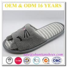 slip resistant 2016 animal open toe women slippers