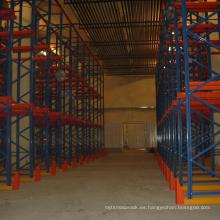 China fabricante warehosue uso en rack paleta de almacenamiento en rack