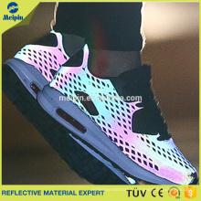 Chaussures réfléchissantes en maille colorée haute visibilité
