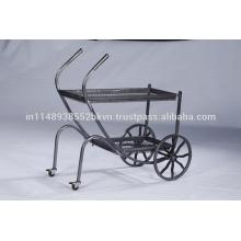 Industrial Vintage Muebles de cocina al aire libre Metal Cart