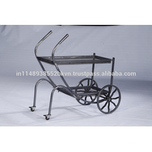 Industrial Vintage Outdoor Kitchen Furniture Metal Cart