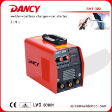 Multi welder combined with welder,battery charger, car starter 300A