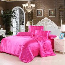 China Manufacture Satin Silk Bedding Set