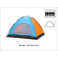 More than 6 people monolayer single-door outdoor camping tents selling from shenzhen to worldwhile