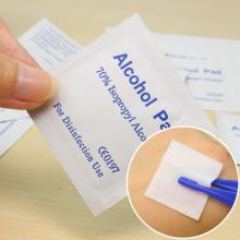 Small Packet Medical Nursing Pads Microfiber Cloth
