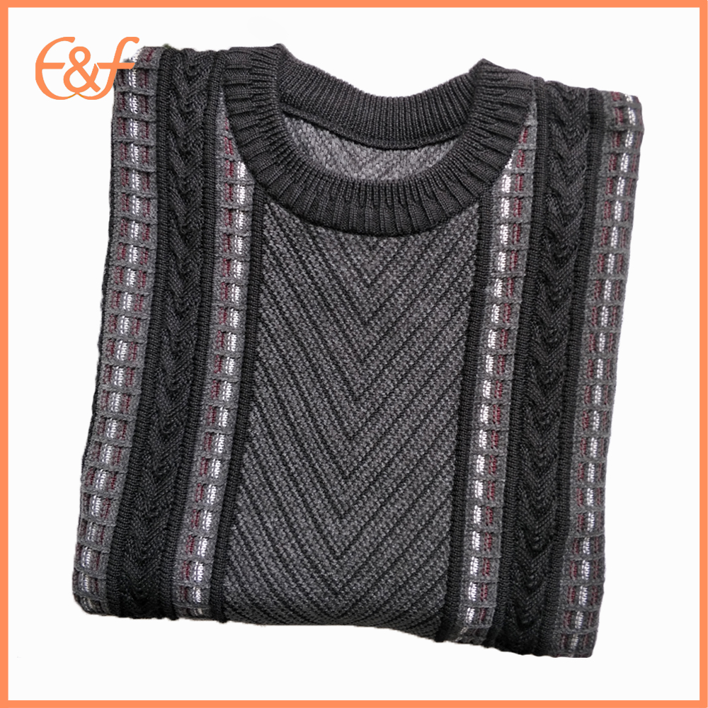 Knit pullover for men