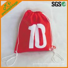saco de cordão não tecido ambiental reusável dos pp dos pp