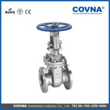 Manual cf8m wcb brida agua Válvulas de compuerta
