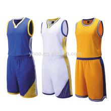 La qualité thaïlandaise en gros de basket-ball maillot uniforme de basket-ball logo imprimé personnalisé sur le maillot