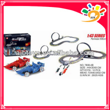 1 43 Spielzeug Rennstrecke von Hand 550cm lange Spur Spielzeugauto mit Hand Generator