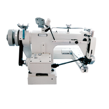 QS-927-PS TWO NEEDLES FEED OFF THE ARM MACHINE WITH GEAR-BOX PULLER