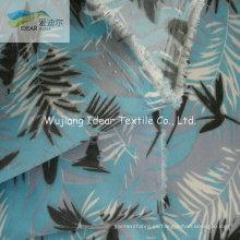 75DX150D impreso a Microfiber del poliester liso piel del melocotón tela para la ropa