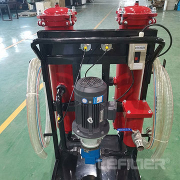 100L LYC-100B Portable Oil Transfer dan Filter Housing