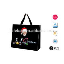 2014 nouveau style personnalisé sac cadeau de Noël pour le paquet de supermarché boutique