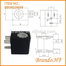 Пневматический DIN43650B Тип подключения Соленоидный клапан Катушка